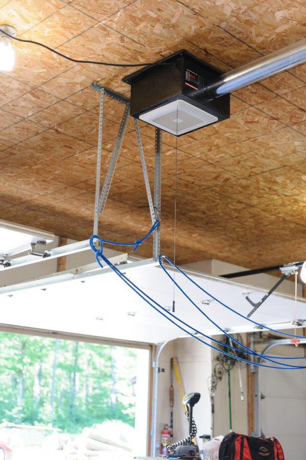 Installed RVI Garage Fan